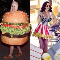Katy Perry Dressed as Food