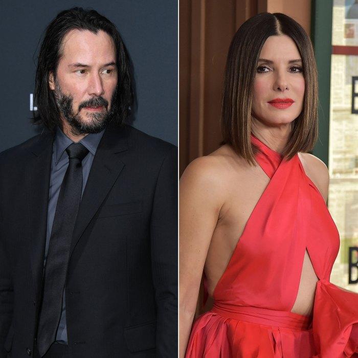 Keanu Reeves Had A Crush On Speed Costar Sandra Bullock