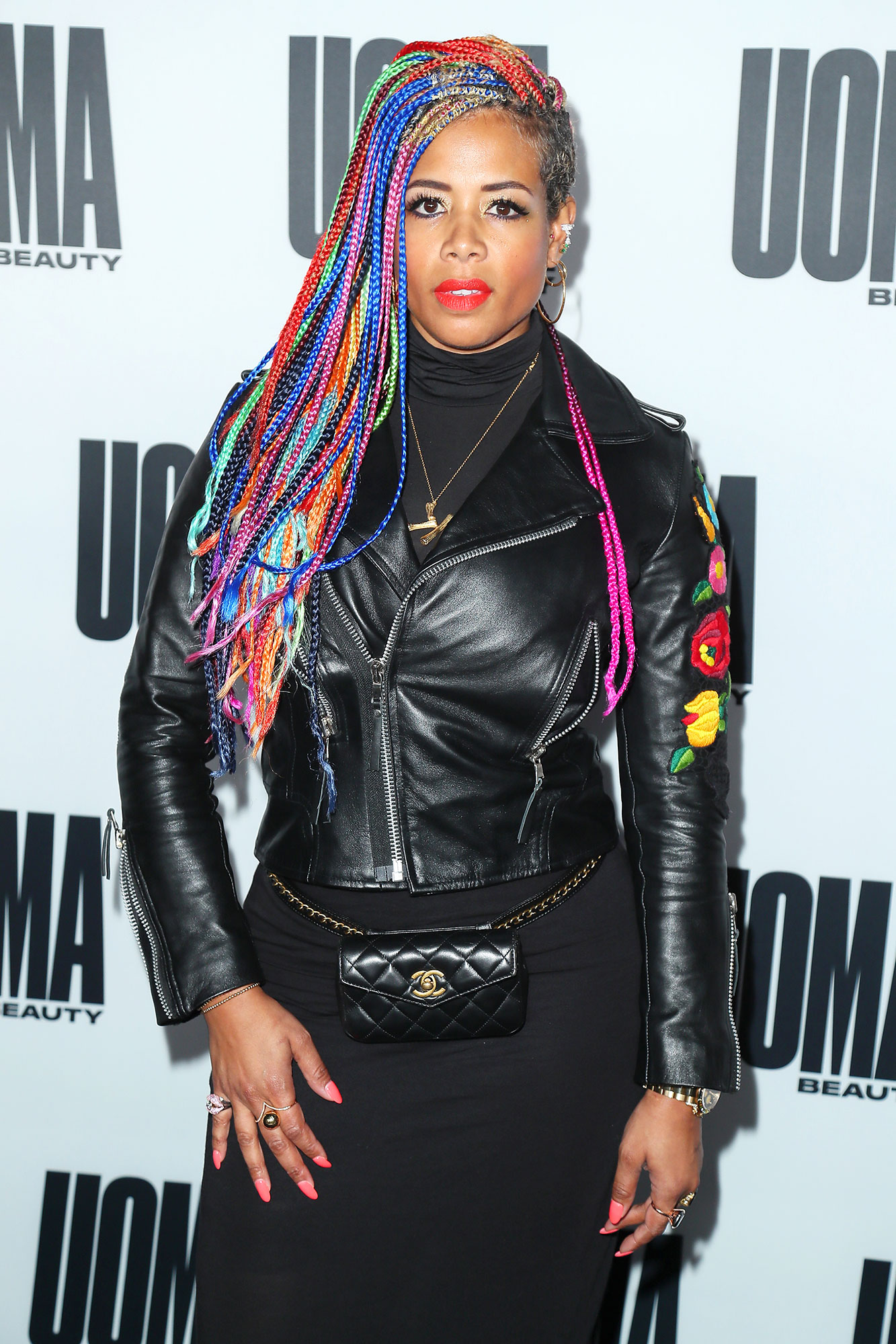 """Advice From Mothers Kelis - """"Hold your stomach in, stand up straight,"""" the singer jokes. """"Seriously, to nurture your natural talents, and whatever you're naturally happiest doing is what you're going to be the best at."""""""
