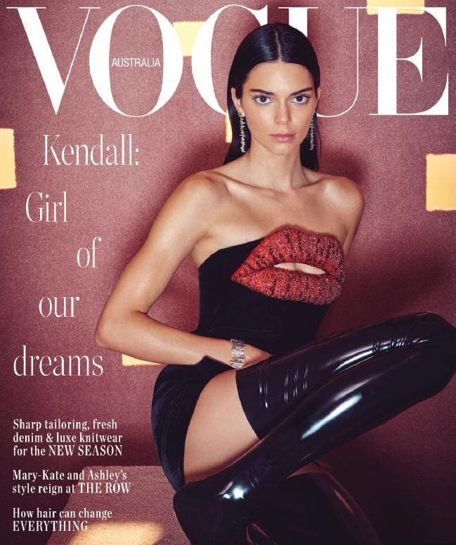 Kendall Jenner Shares Why She Keeps Relationship With Ben Simmons Quiet, Marriage JVB-2 - Kendall Jenner on the cover of Vogue Australia.