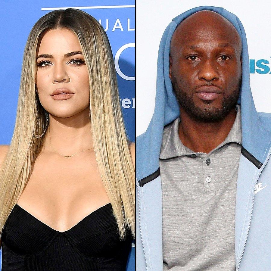Khloe Kardashian Lamar Odom Texted Over Stripper