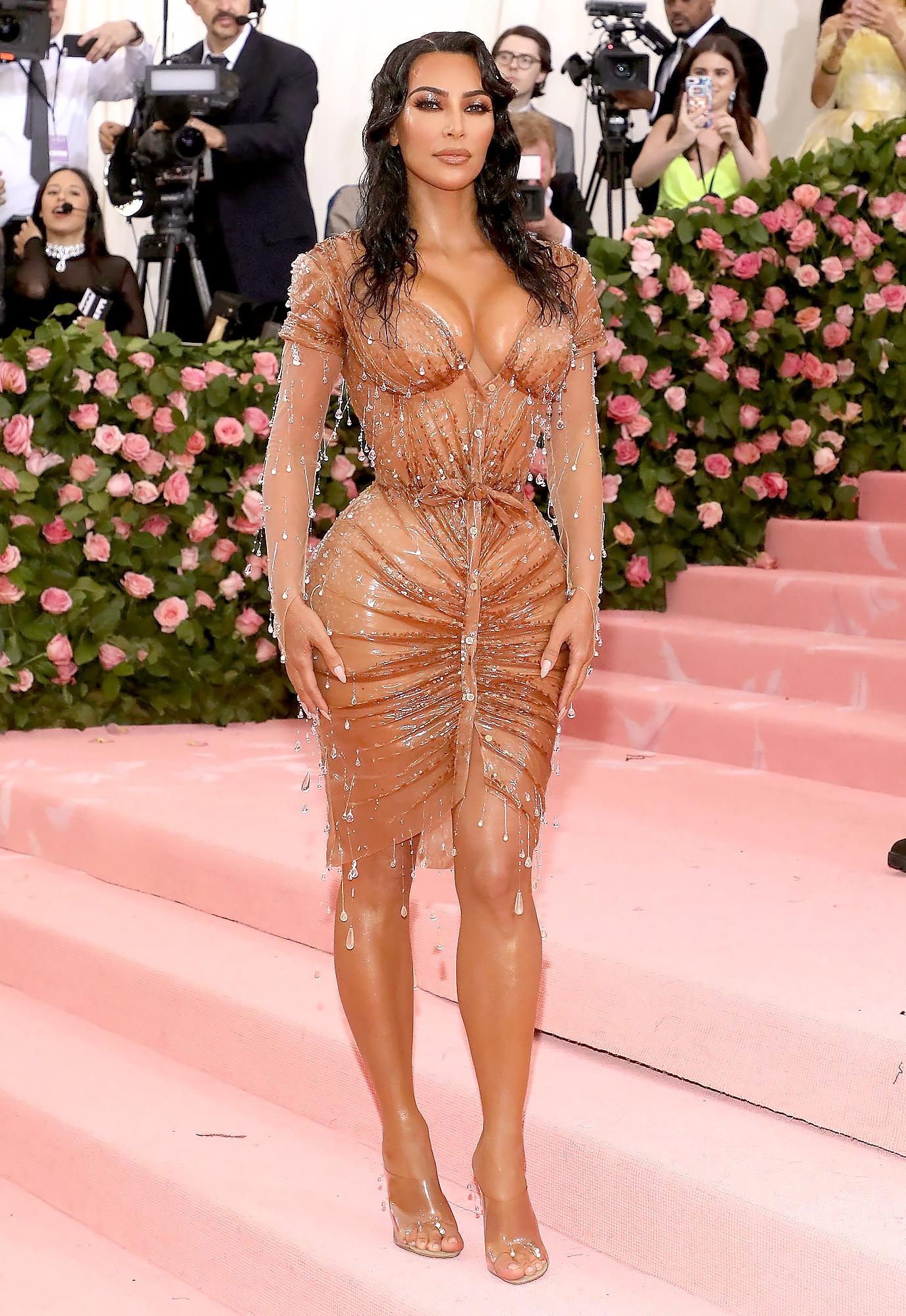 Kim Kardashian's Corset Breathing Lessons for Met Gala ...
