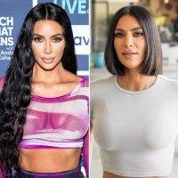 Kim Kardashian New Haircut Bob