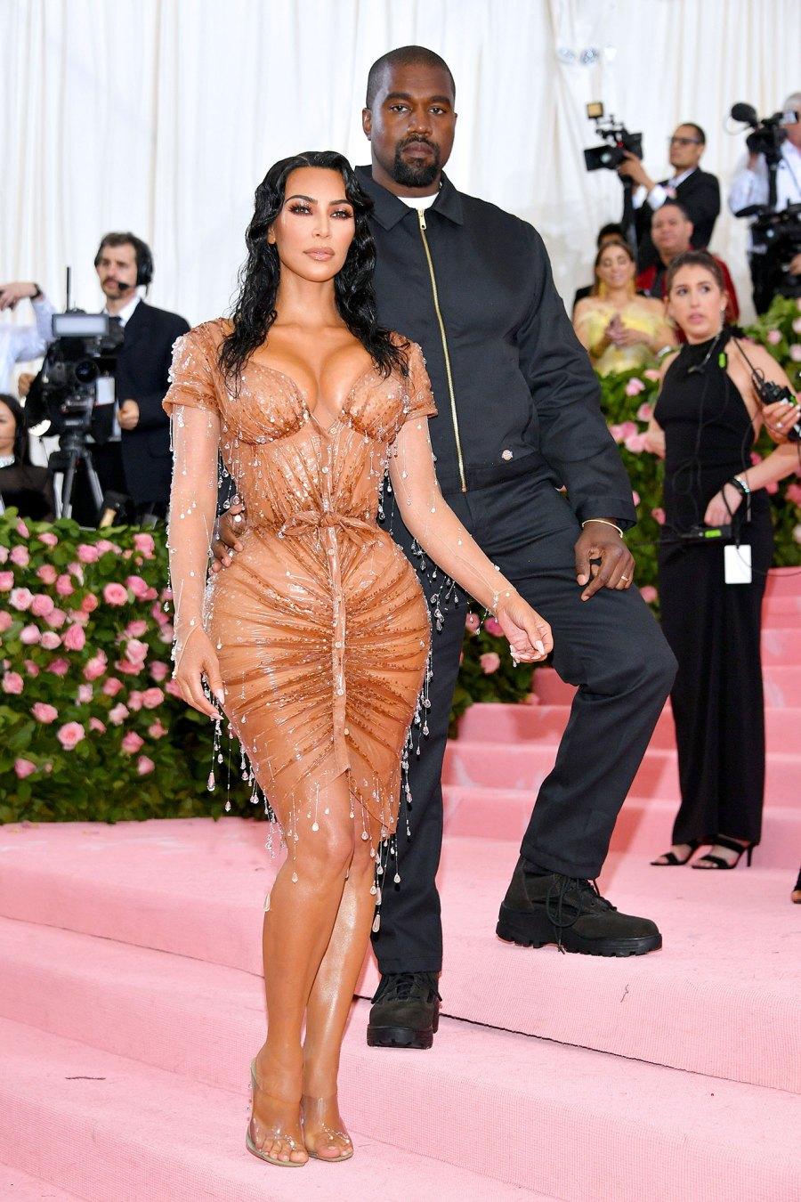 Kim Kardashian West and Kanye West Met Gala 2019