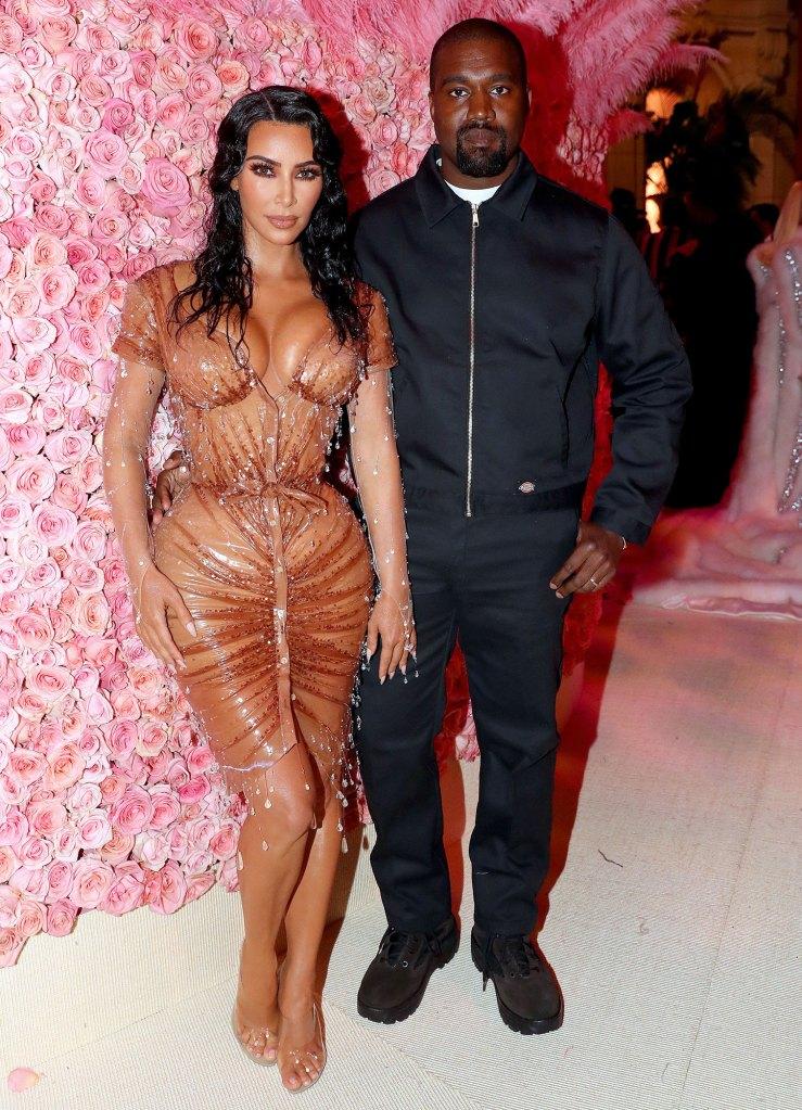 Kim Kardashian and Kanye West First Look