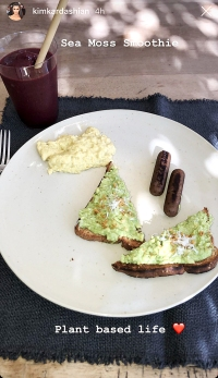 Kim Kardashian's Plant-Based Meals