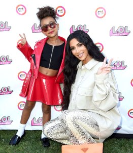 Kim Kardashians Spends Maternity Leave Filming With North