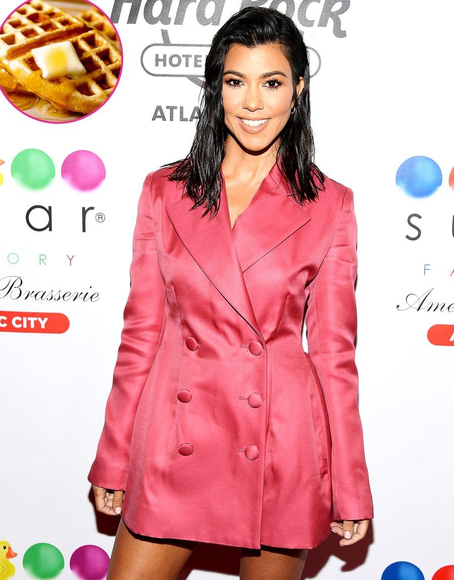 Kourtney Kardashian Cheat Meals