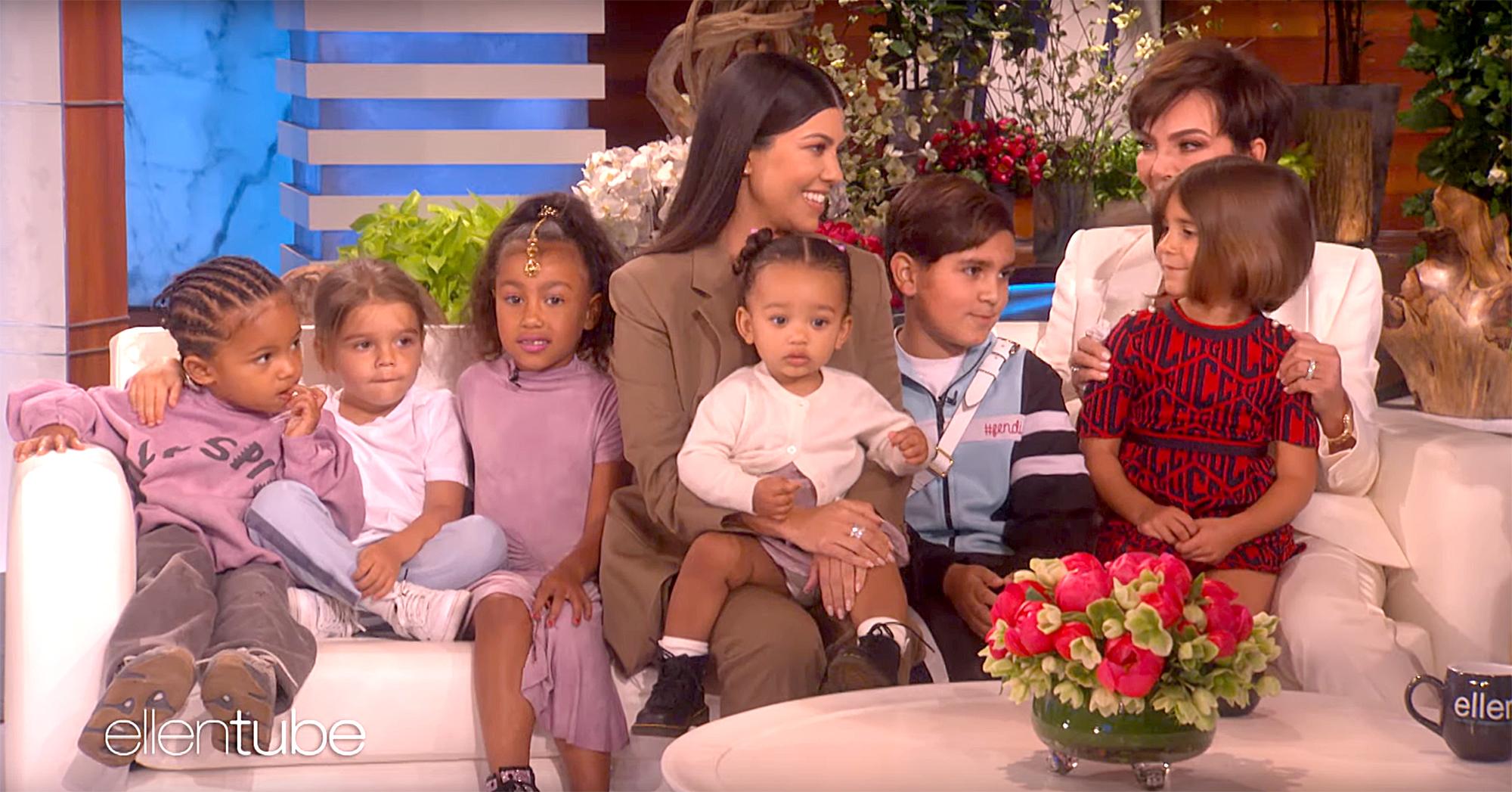 Kourtney-Kardashian-Kris-Jenner-kids-on-Ellen-3
