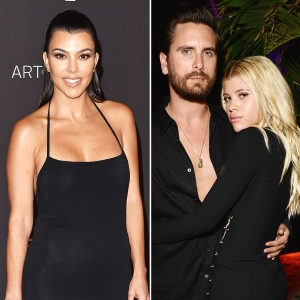 Kourtney Kardashian Is 'Proud' of Friendship With Scott Disick, Sofia Richie