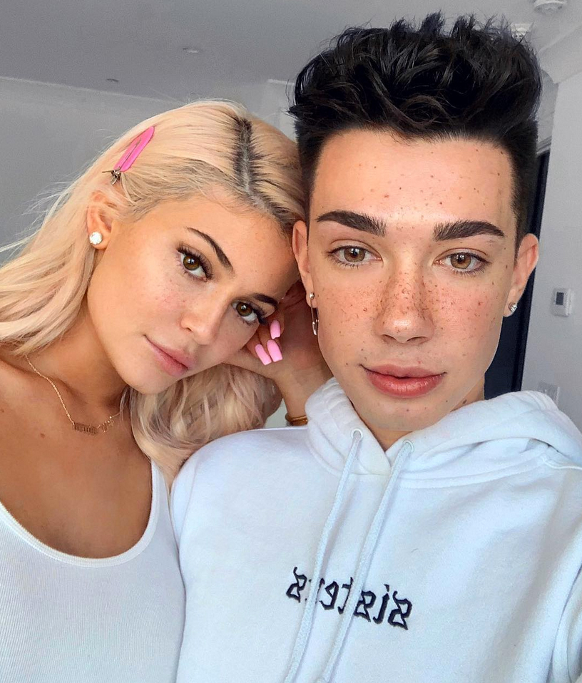 Kylie Jenner and James Charles