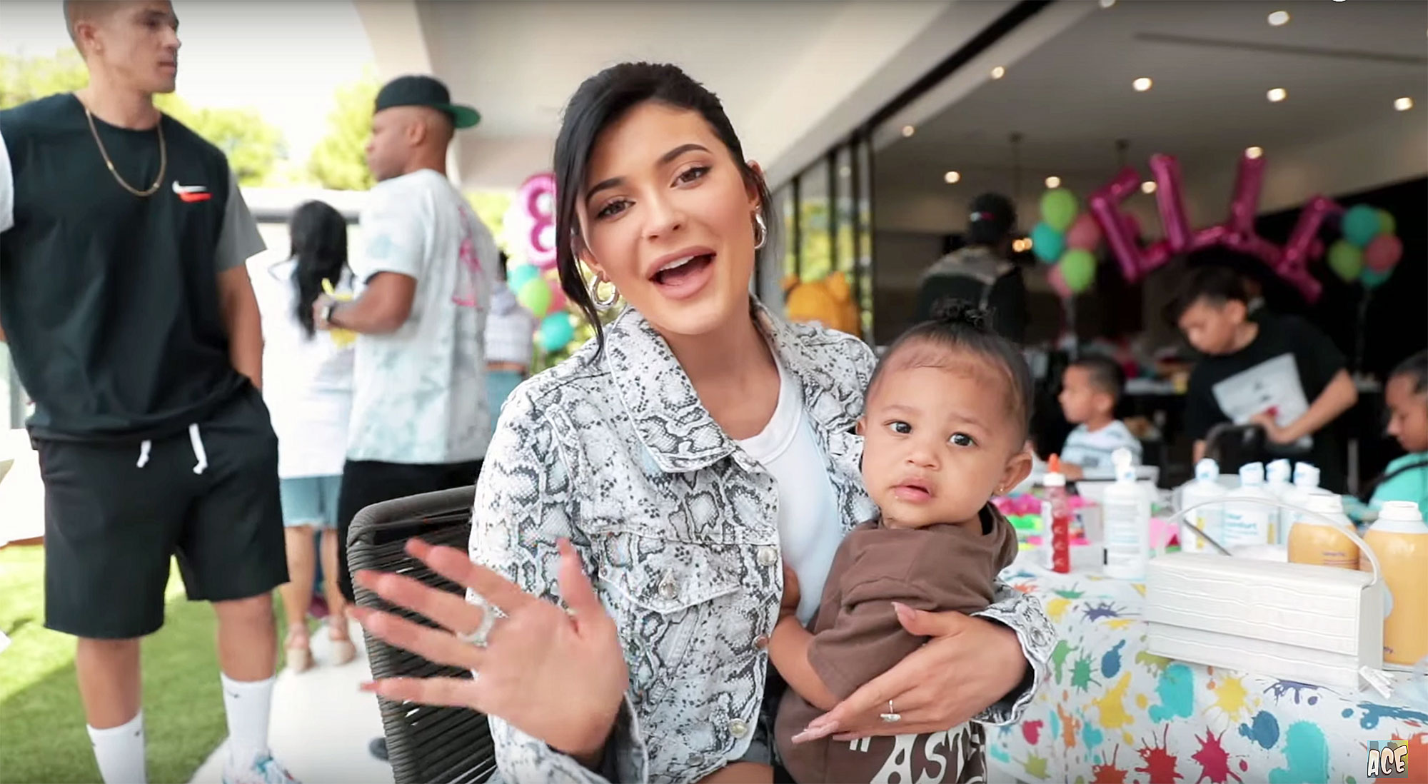 Kylie Jenner Elle Ace Family Birthday