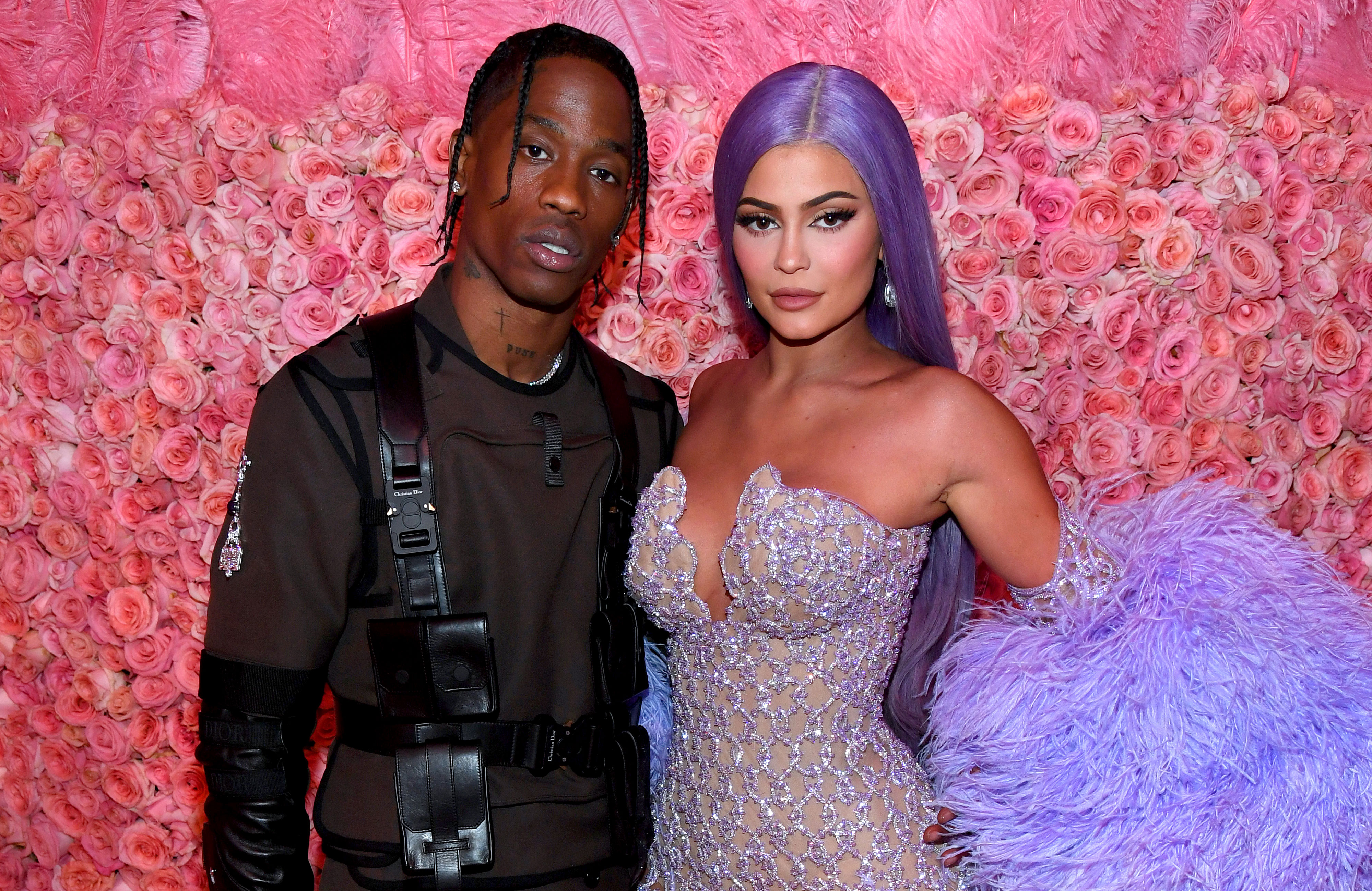 Kylie Jenner and Travis Scott Got Matching Stormi Tattoos 2019 Met Gala Celebrating Camp - Travis Scott and Kylie Jenner attends The 2019 Met Gala Celebrating Camp: Notes on Fashion at Metropolitan Museum of Art on May 06, 2019 in New York City.