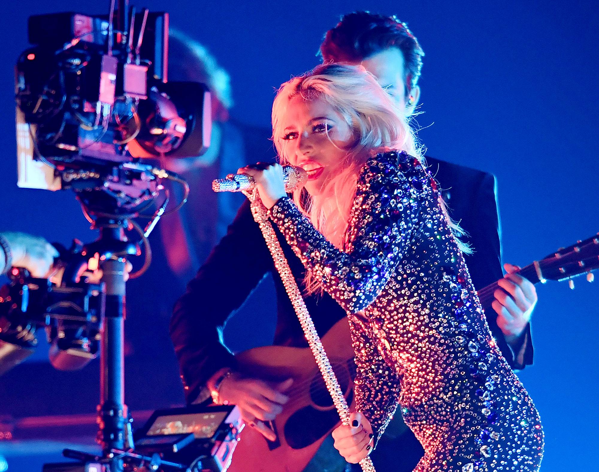 Lady Gaga Falls Bounces Back Las Vegas Residency