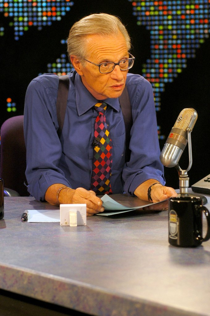 Larry King Dead Desk