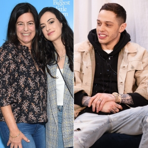 Laurie David on Daughter Cazzie David Pete Davidson