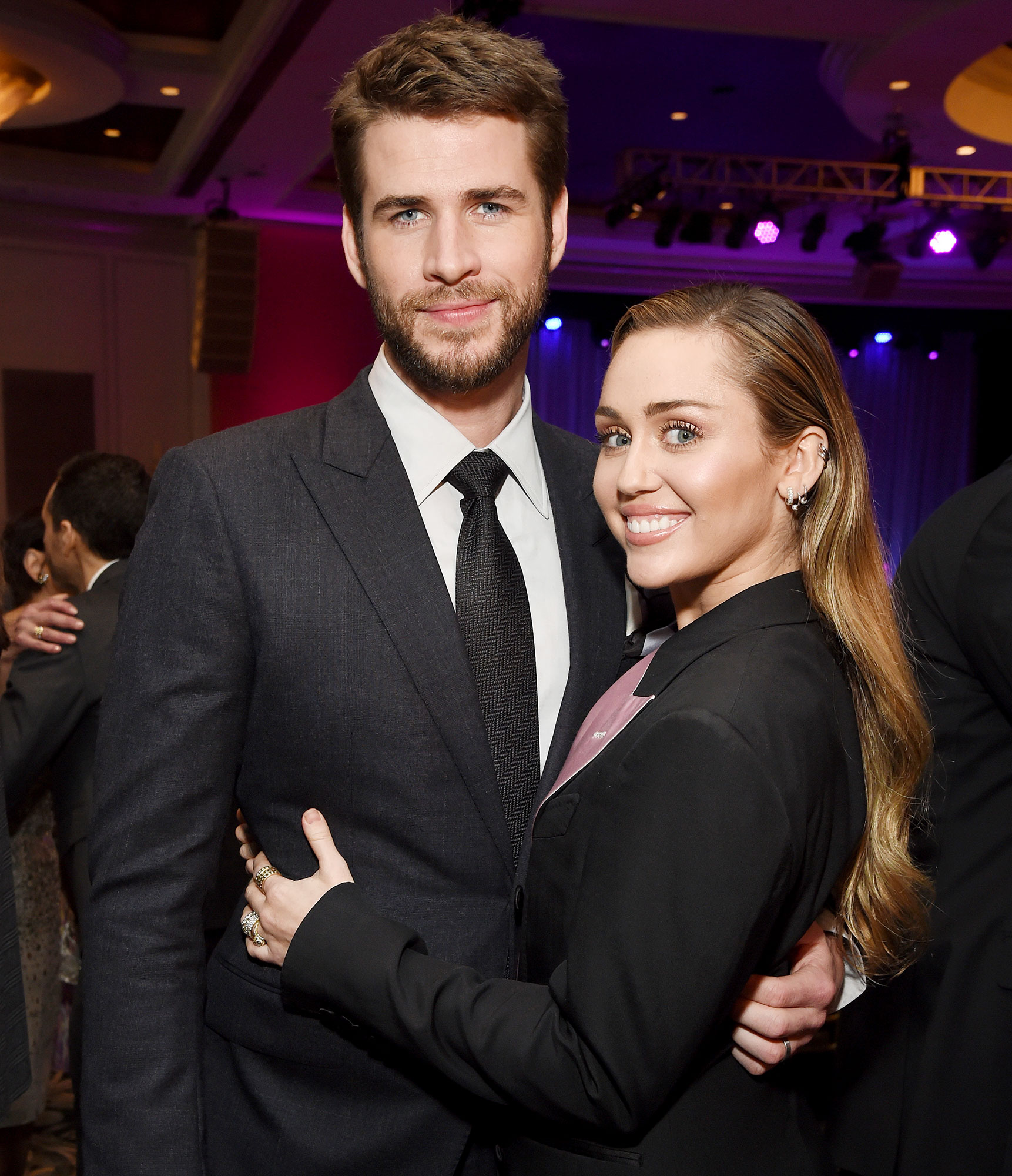 Liam Hemsworth Party In The USA Miley Cyrus Beale Street Music Festival