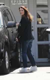 Lisa Vanderpump Fender Bender Car Accident