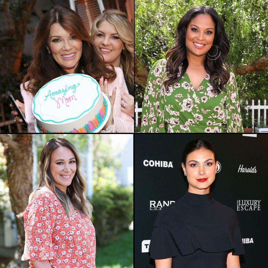 Lisa Vanderpump, Morena Baccarin, Laila Ali, Haylie Duff Mothers Advice