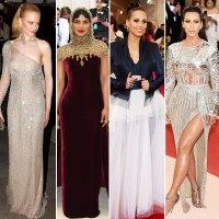 Nicole Kidman, Priyanka Chopra, Alicia Keys, and Kim Kardashian Look Back at the Most Major Fashion Moments in Met Gala History