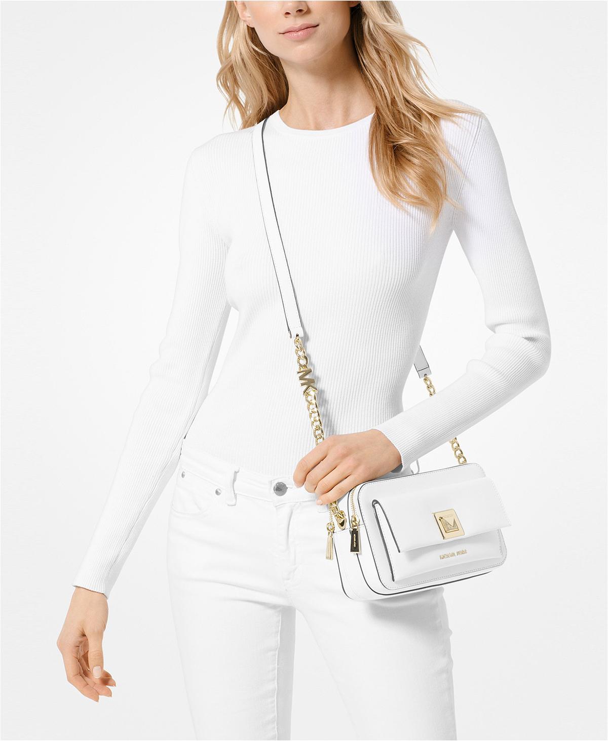 MK Bag White