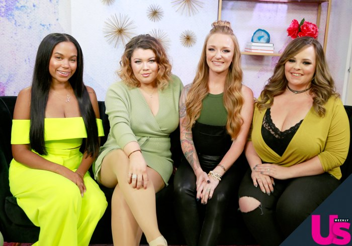 Maci, Amber, Caitlynn and Cheyenne on Regrets, More Babies and the Future of 'Teen Mom'