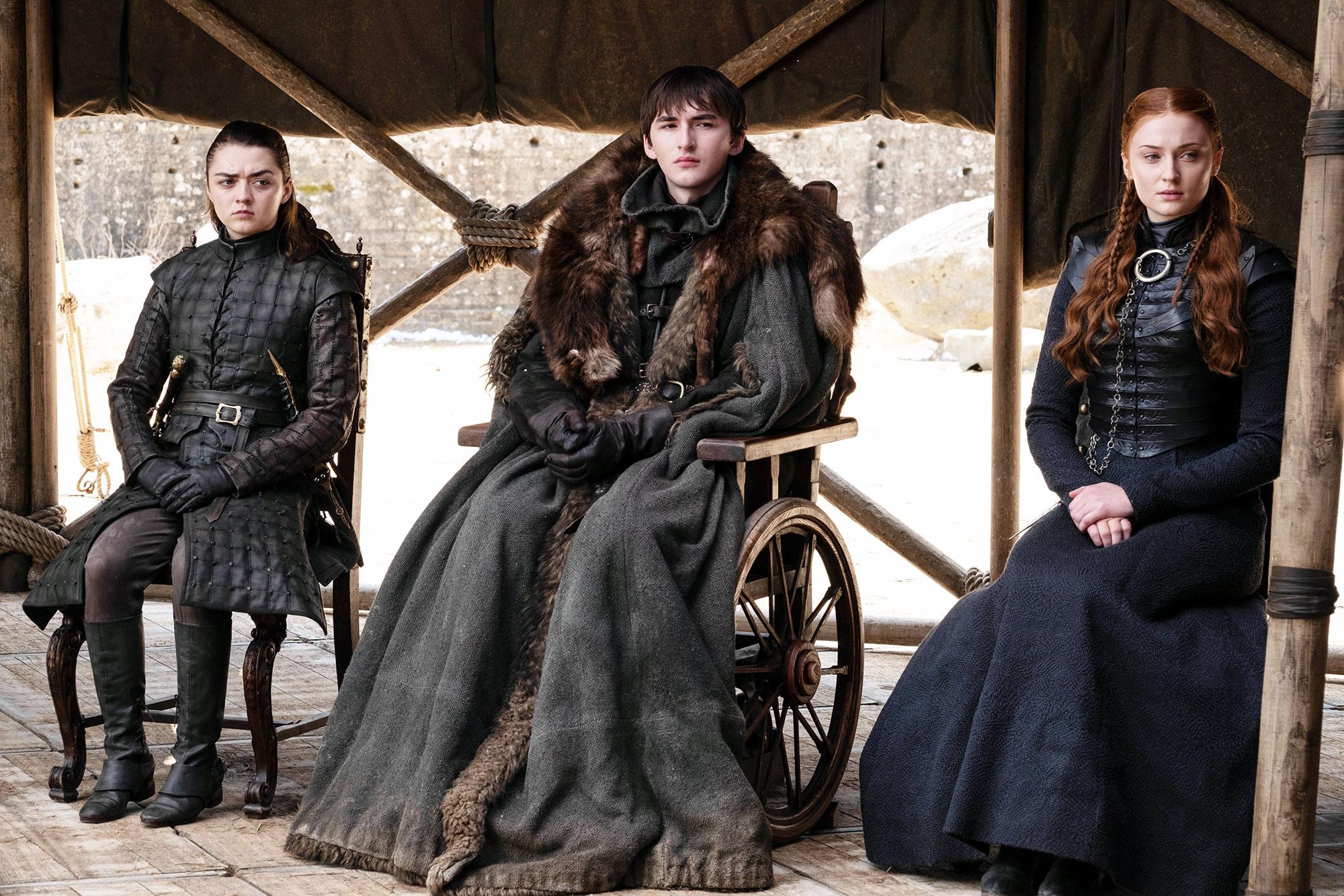 Maisie Williams Isaac Hempstead Wright Sophie Turner Game of Thrones Series Finale Worst Episode