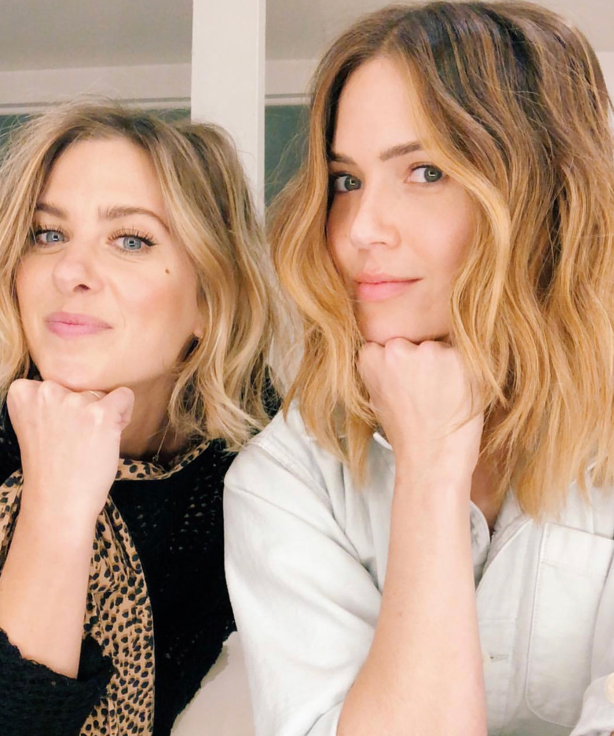 Mandy-Moore-stylist - Ashley Streicher and Mandy Moore