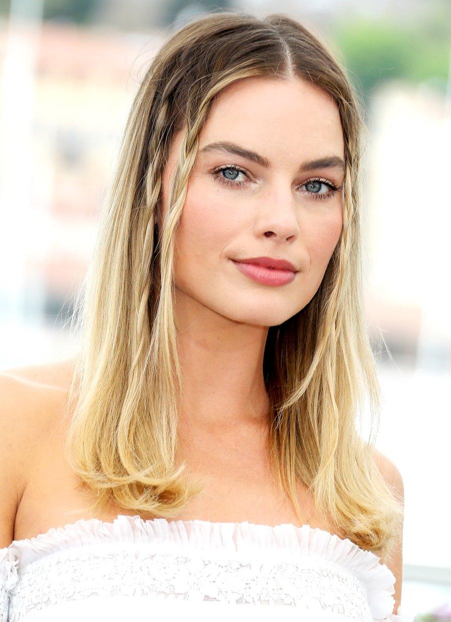 Margot-Robbie's-Sharon-Tate-Inspired-Plaits
