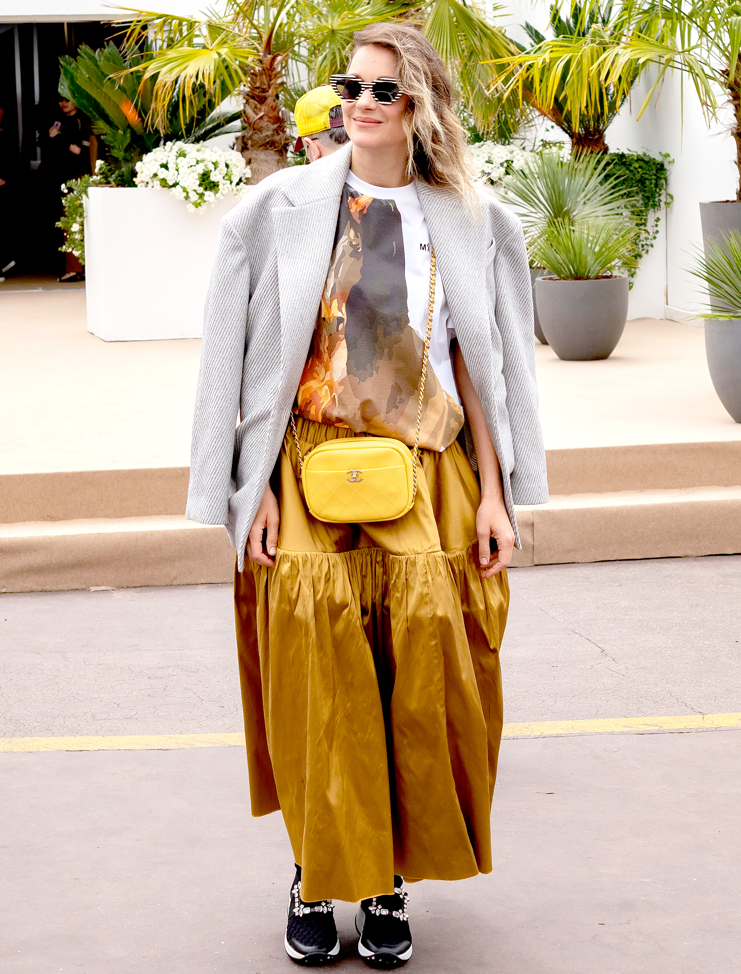 Marion-Cotillard - We love how the French actress played with proportion in her oversized separates on Wednesday, May 22.