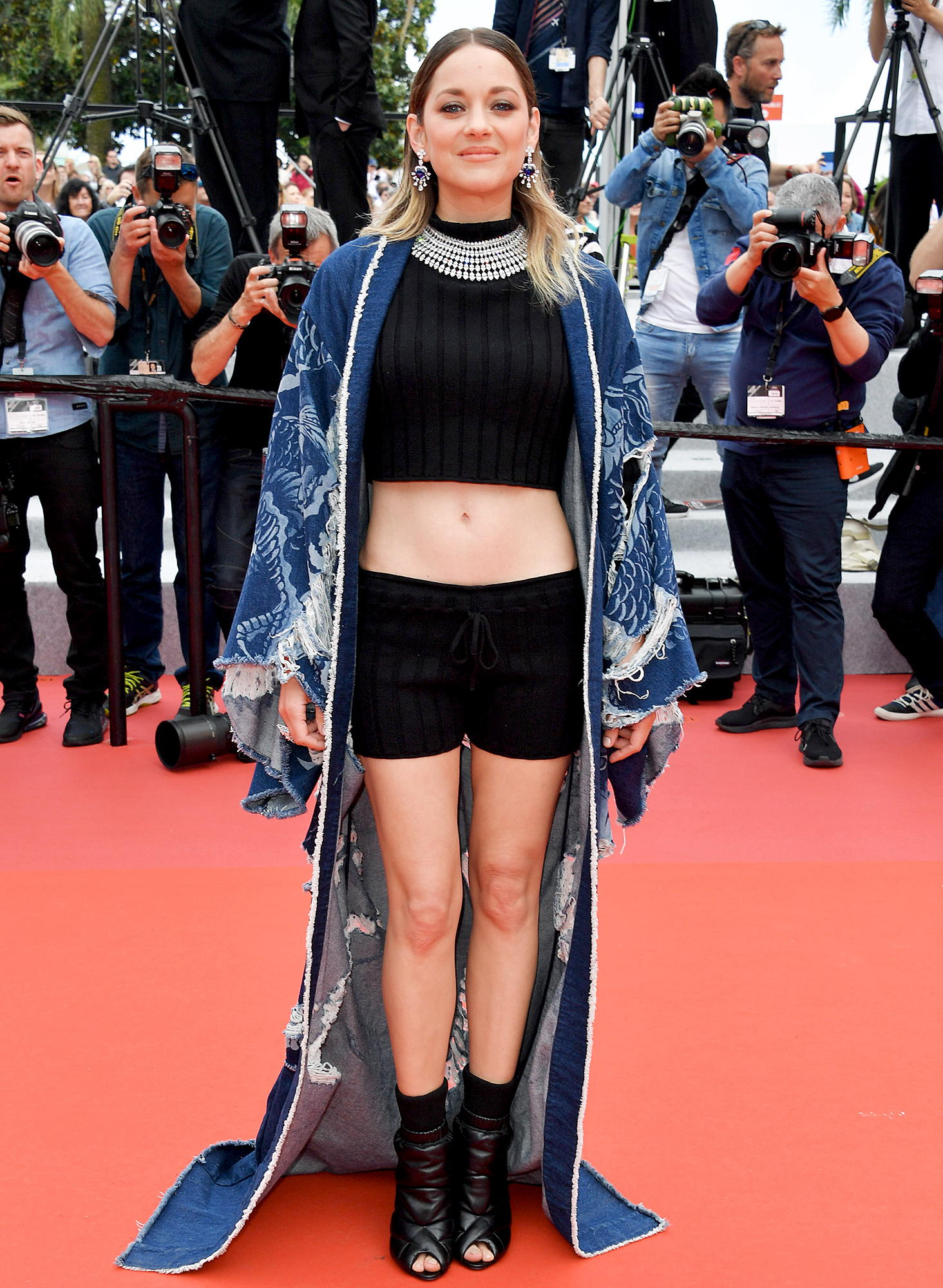 """Marion-Cotillard - CANNES, FRANCE – MAY 22: Marion Cotillard attends the screening of """"Matthias Et Maxime (Matthias and Maxime)"""" during the 72nd annual Cannes Film Festival on May 22, 2019 in Cannes, France. (Photo by George Pimentel/WireImage)"""