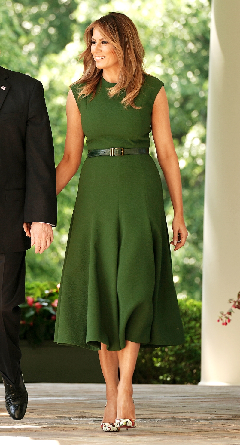 26ed19039e Melania Trump's Most Stylish First Lady Moments