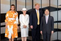 Melania Trump Memorial Day Japan