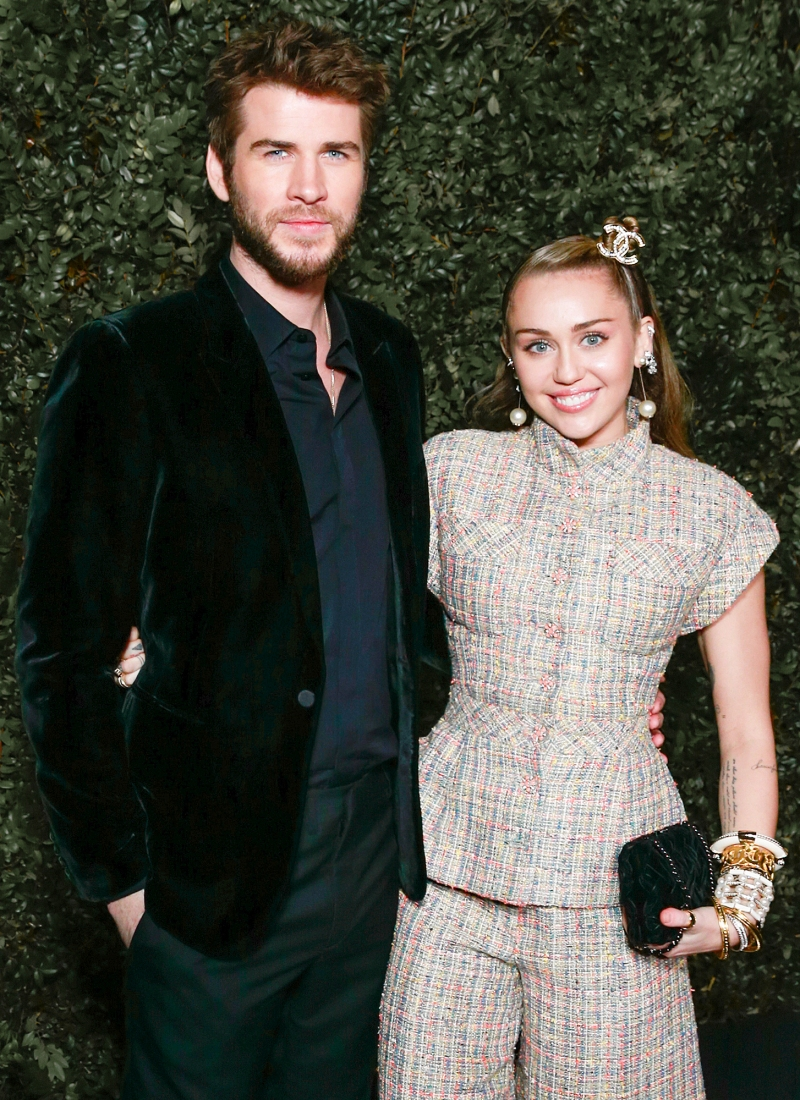ff1636a9a65c5 Miley Cyrus and Liam Hemsworth's Love Story: A Timeline of Their  Relationship