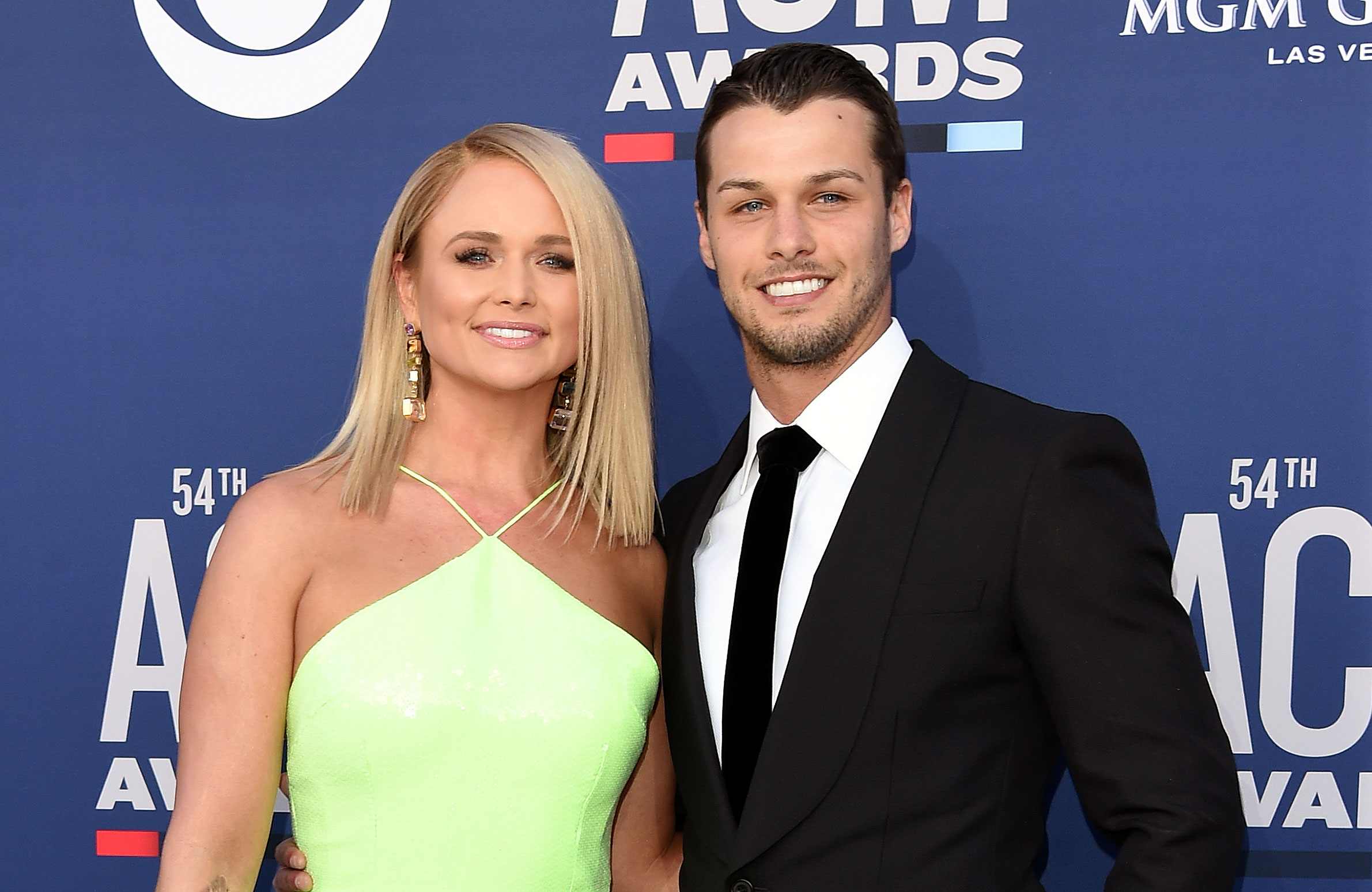 Miranda Lambert Shares Adorable Photo of Husband Brendan McLoughlin Posing With Puppies 54th Academy of Country Music Awards - Miranda Lambert and Brendan McLoughlin attend the 54th Academy of Country Music Awards at MGM Grand Garden Arena on April 07, 2019 in Las Vegas, Nevada.