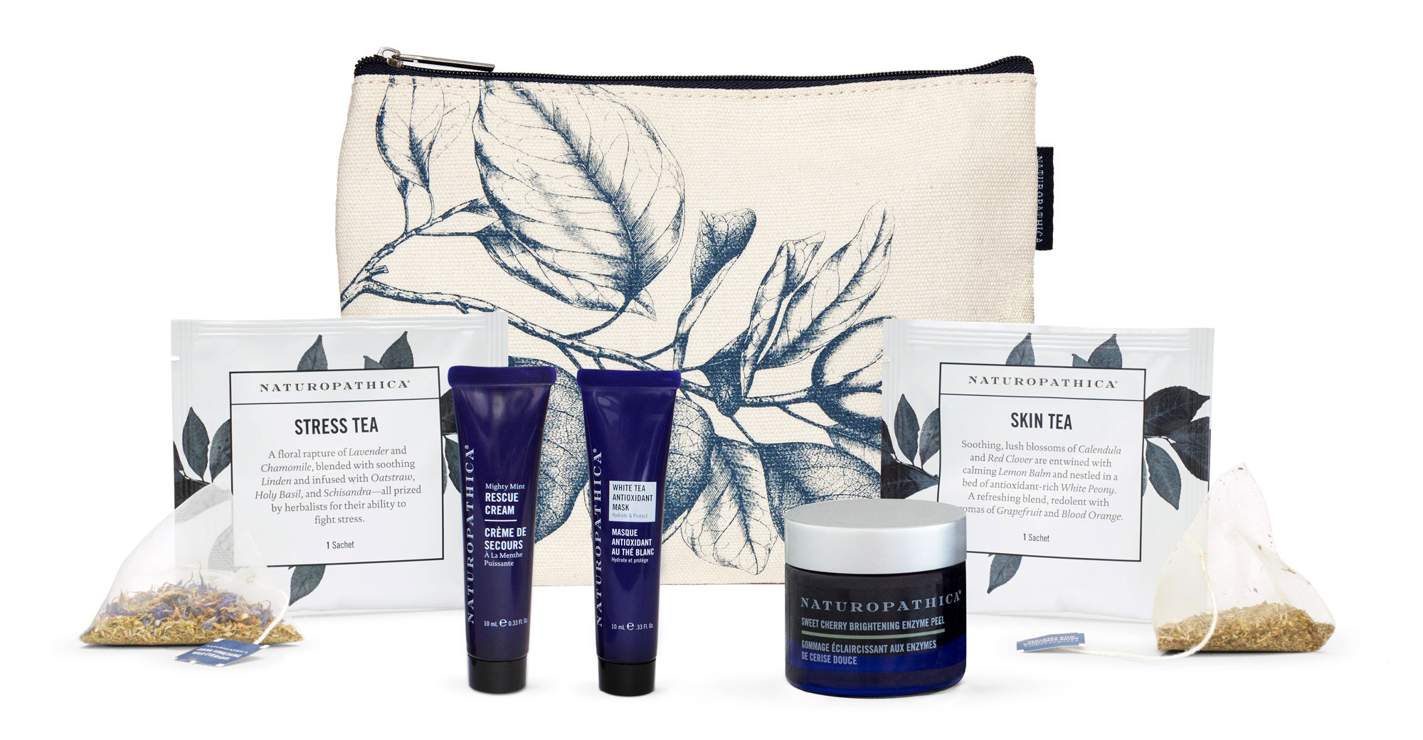 Mother's Day Gift Guide Naturopathica Savor the Moment Gift Set - Jump start your mama's self-care ritual with this skin- and senses-soothing face mask and tea kit. $60, naturopathica.com