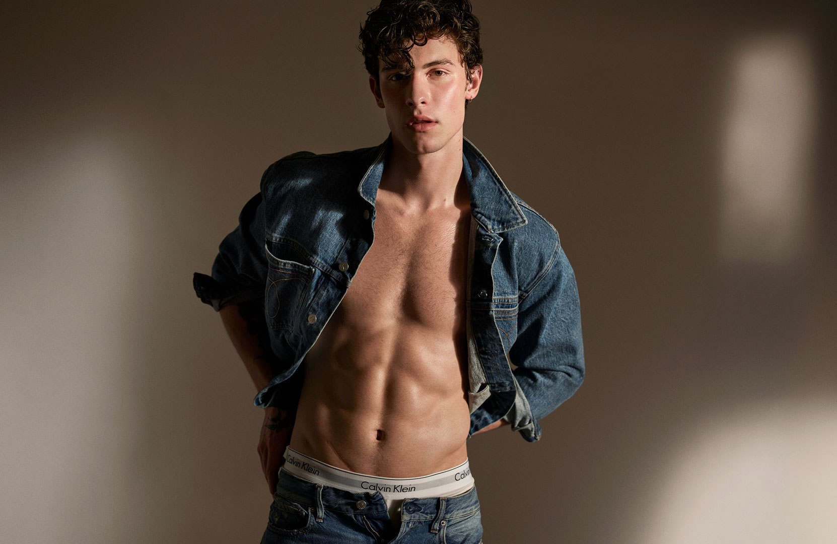 bf4f37061d Watch Shawn Mendes and Noah Centineo Speak Their Truth Half-Clothed in New Calvin  Klein Underwear Campaign