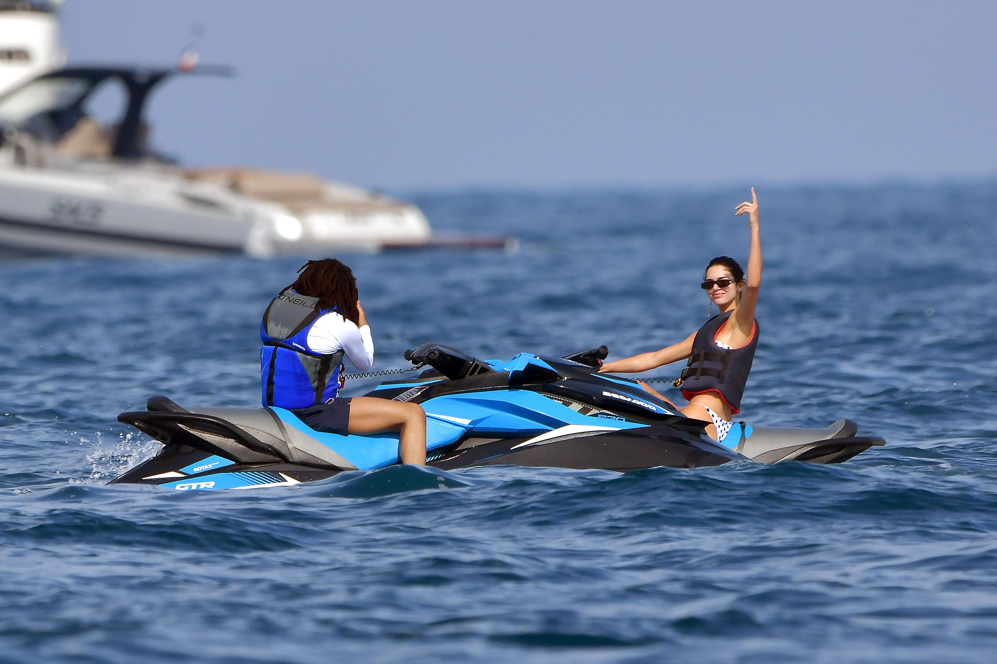 Newly Single Kendall Jenner Hangs Out With Kourtney Kardashian's Ex-Fling Luka Sabbat in Monaco