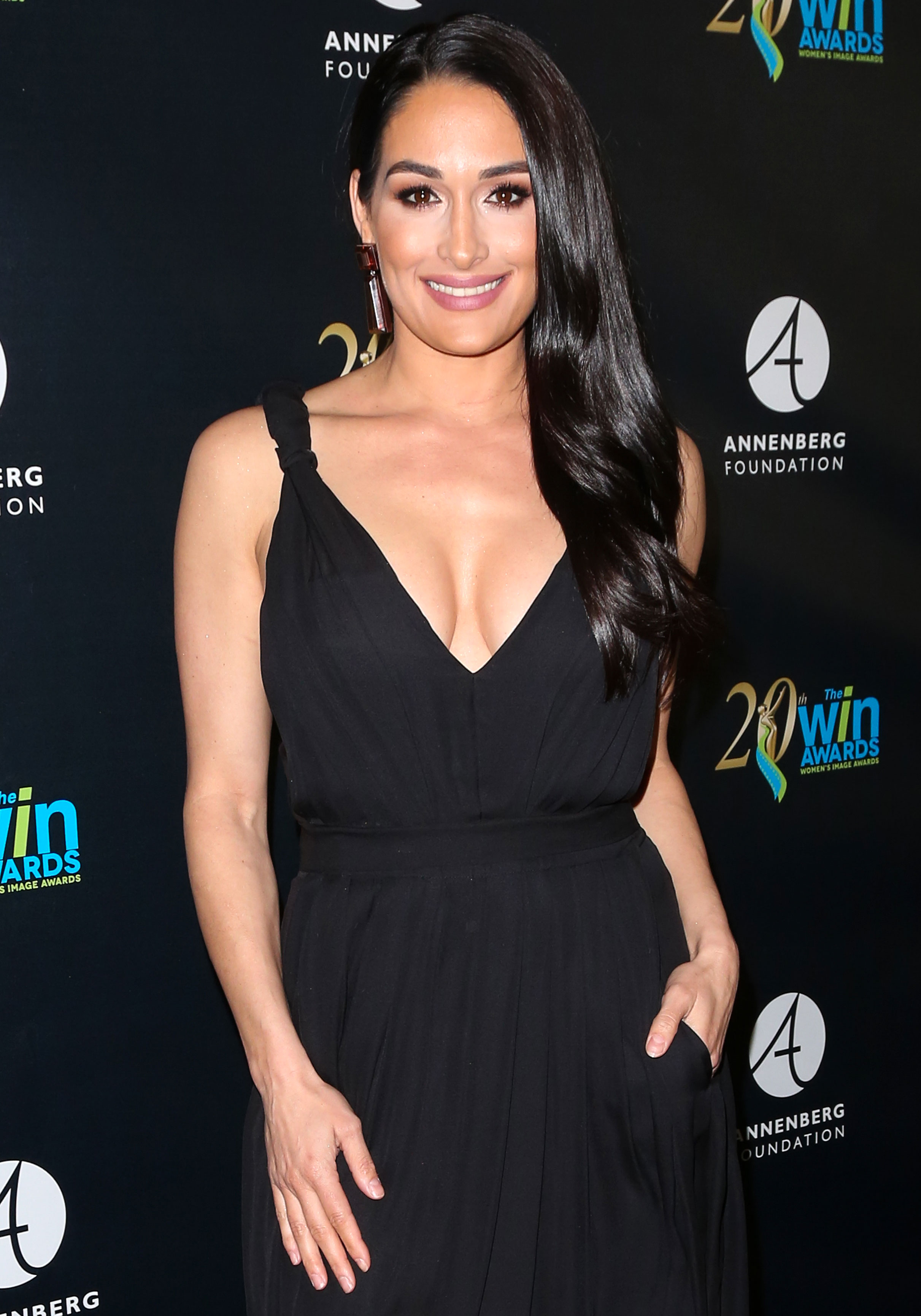 Nikki Bella Loved Seeing Ex John Cena Move On Shay Shariatzadeh - Nikki Bella attends the 20th Annual Women's Image Awards on February 22, 2019 in Beverly Hills, California.