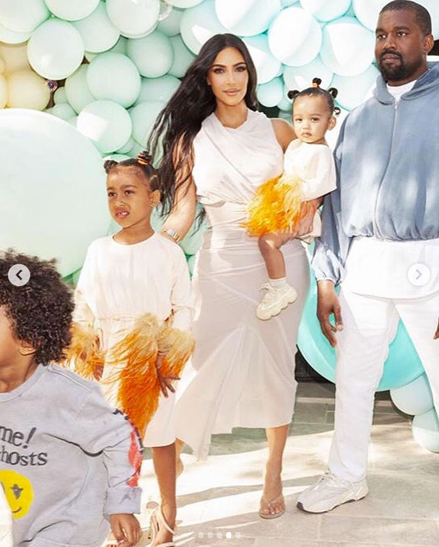 North, Chicago West Are Twinning in Pics Posted by Kim Kardashian