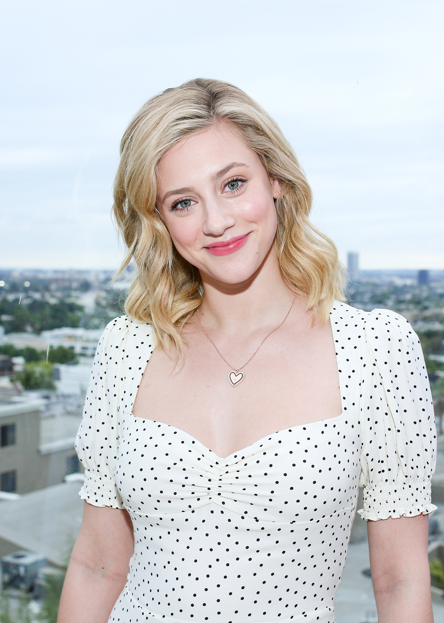 8ce5a6e3f972 Lili Reinhart Stunned at the Launch of Reformation's Shoe Collection