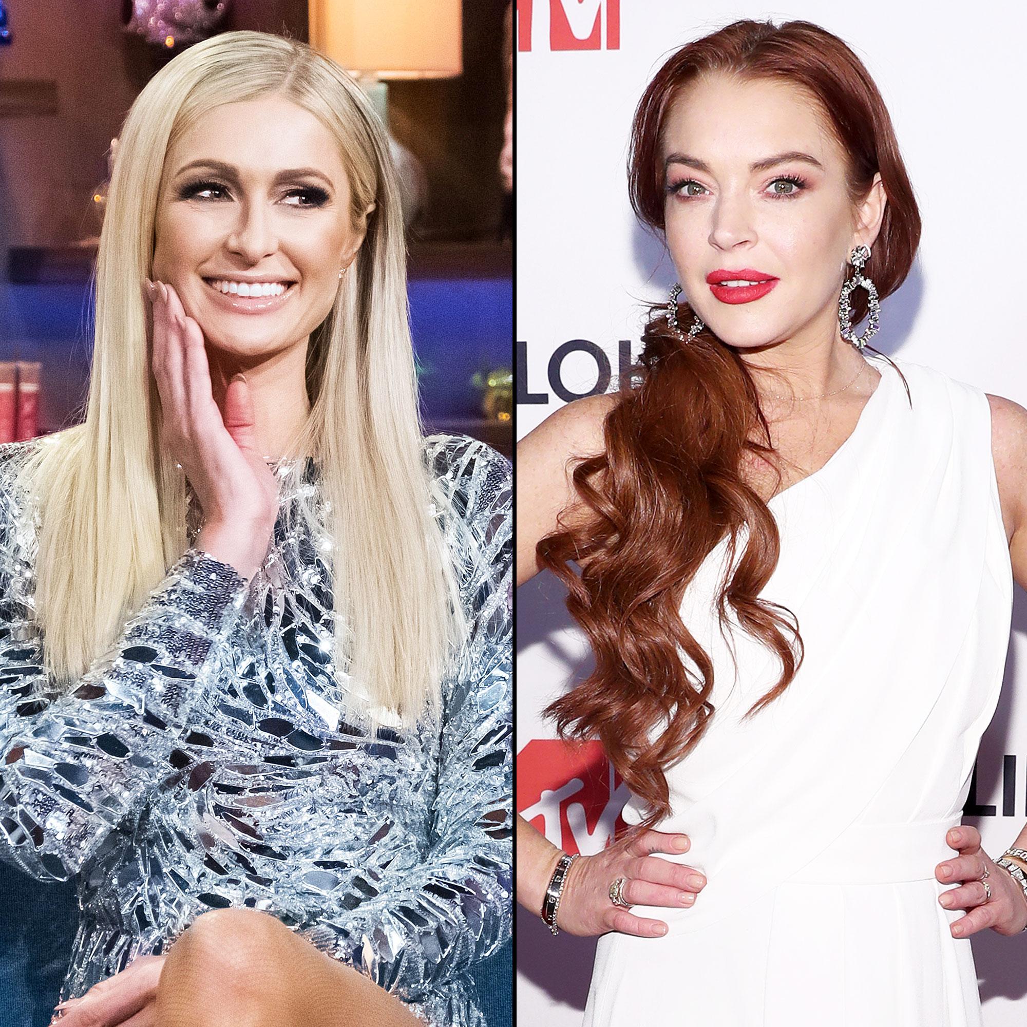 Paris Hilton Lindsay Lohan Lame Embarrassing Watch What Happens Live