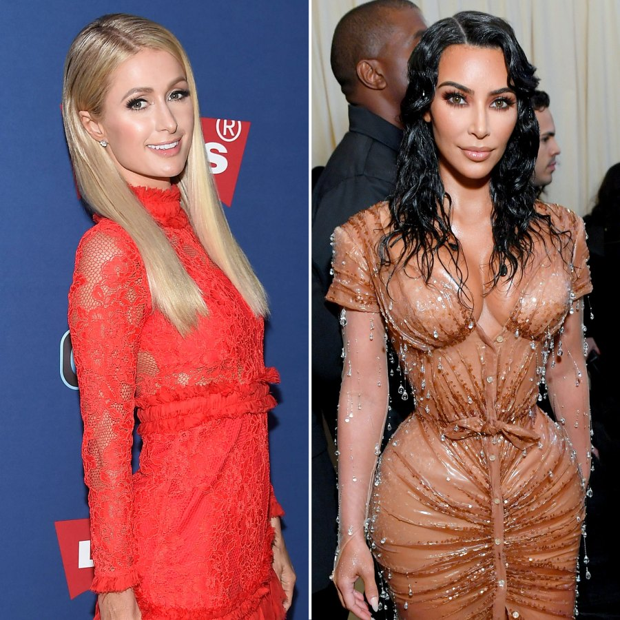 Paris Hilton and Kim Kardashian Baby