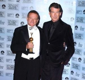Pierce Brosnan Robin Williams Death