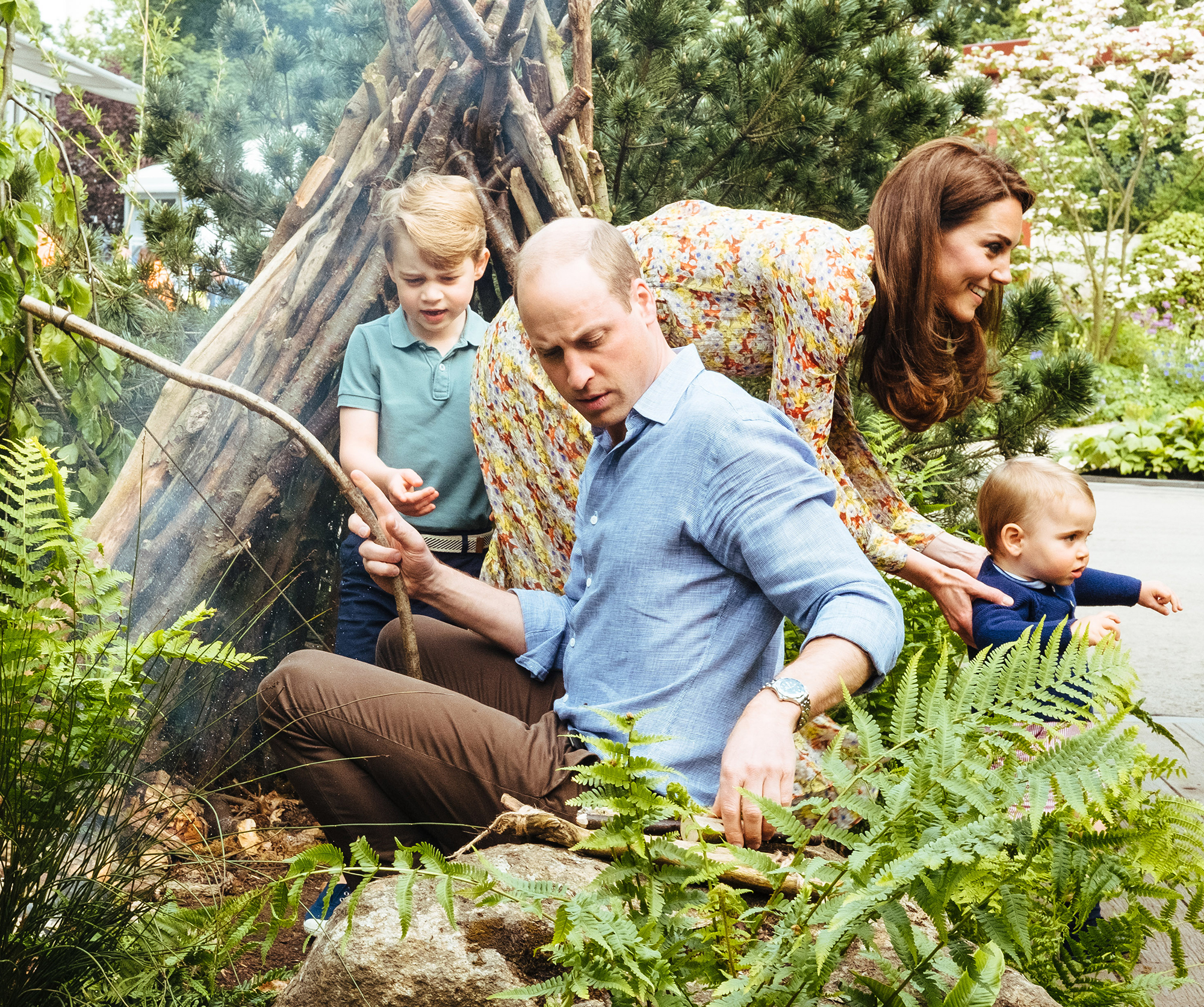 Prince-George-endorsed-the-garden-Duchess-Kate
