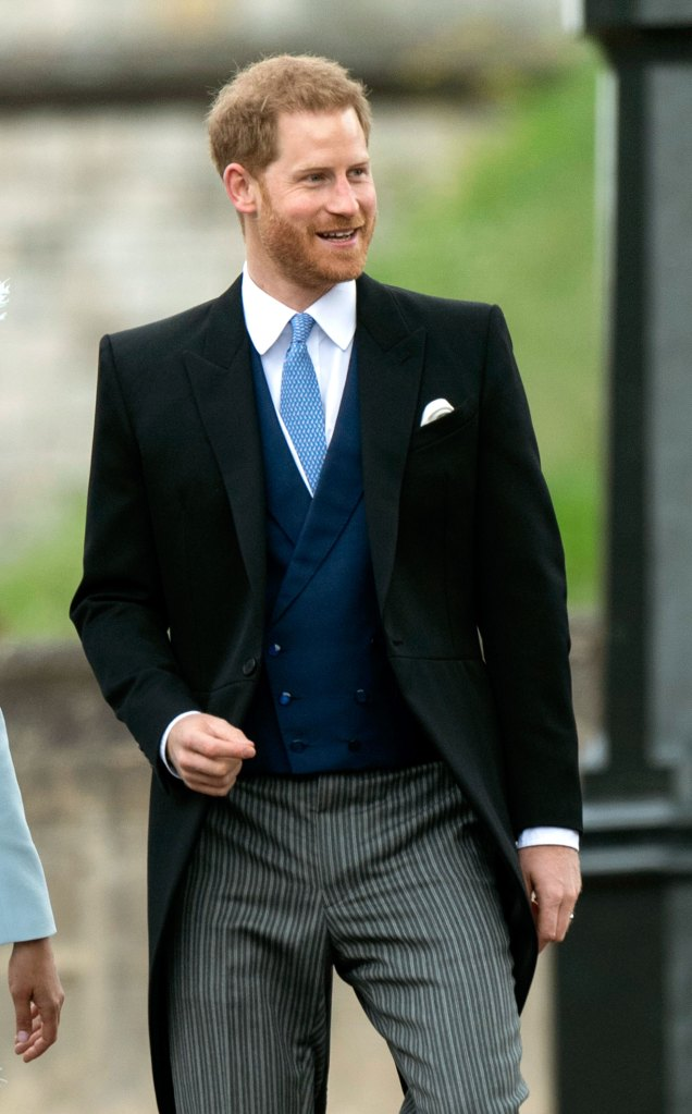 Prince Harry Attends Wedding Sans Meghan at Venue Where They Married 1 Year Ago