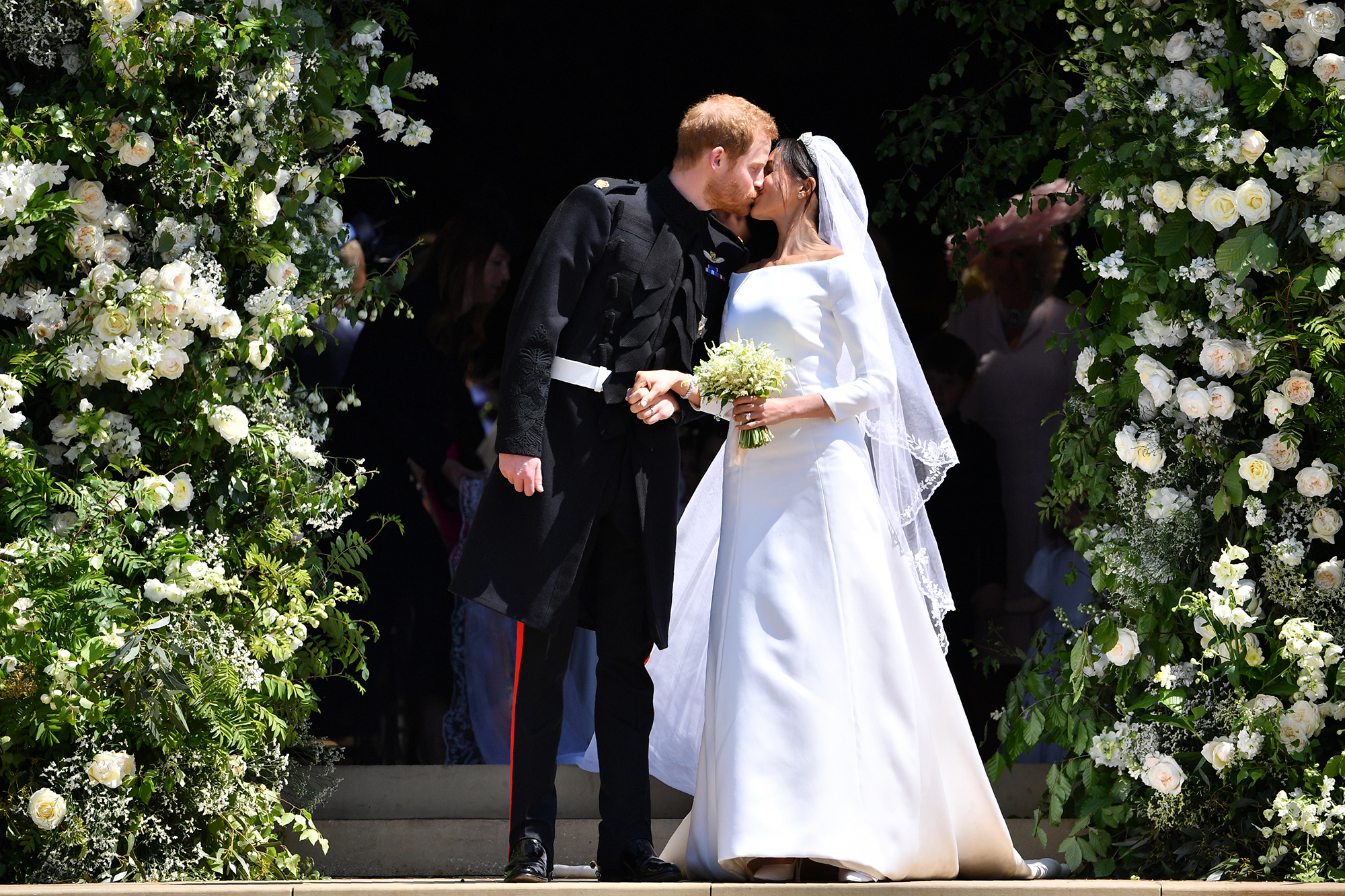 Prince Harry and Duchess Meghan's 1st Year of Marriage - Harry and Meghan exchanged vows at St George's Chapel at Windsor Castle in England on May 19, 2018.