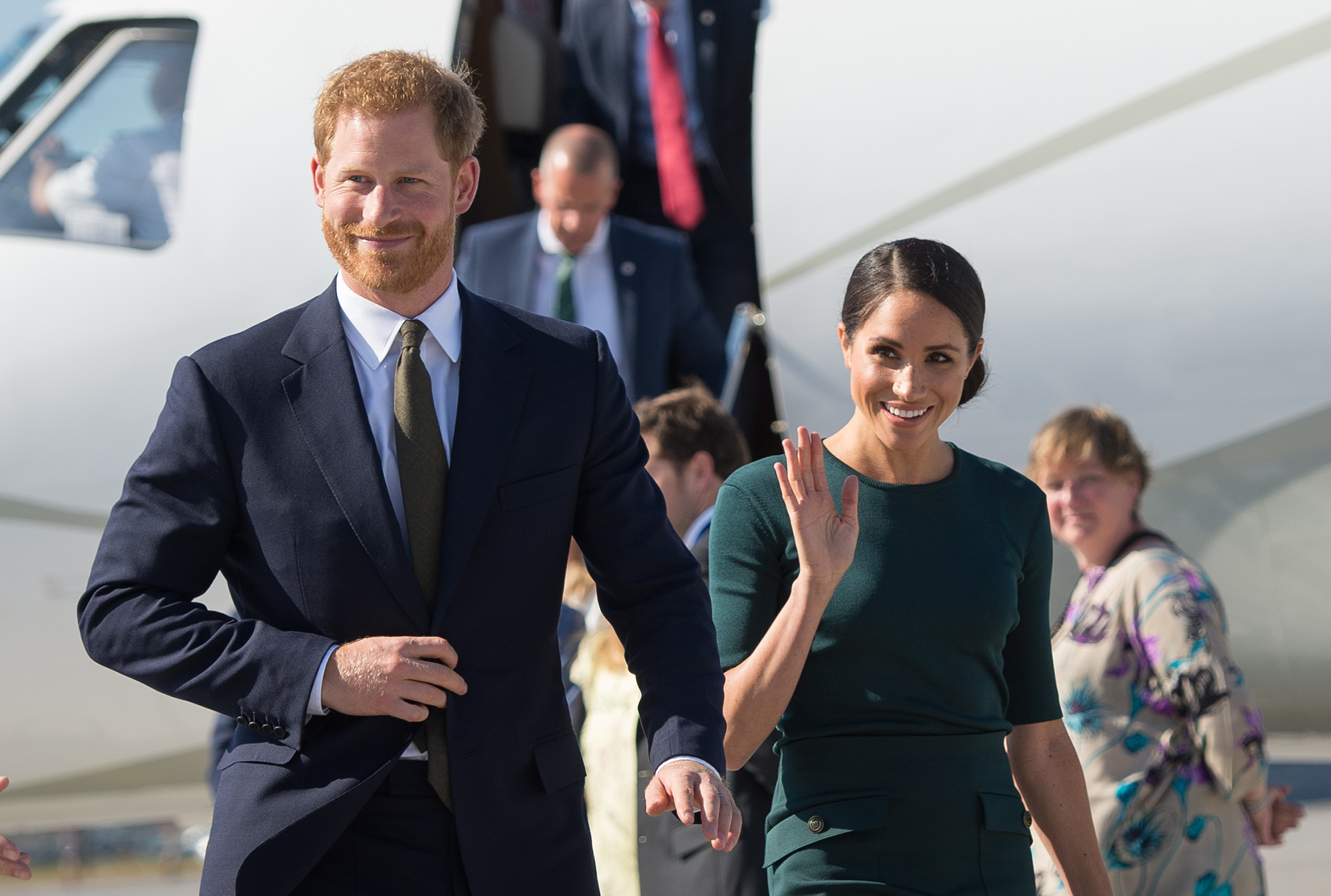 Prince Harry and Duchess Meghan's 1st Year of Marriage - The newlyweds took their first international trip as a married couple to Ireland in July 2018.