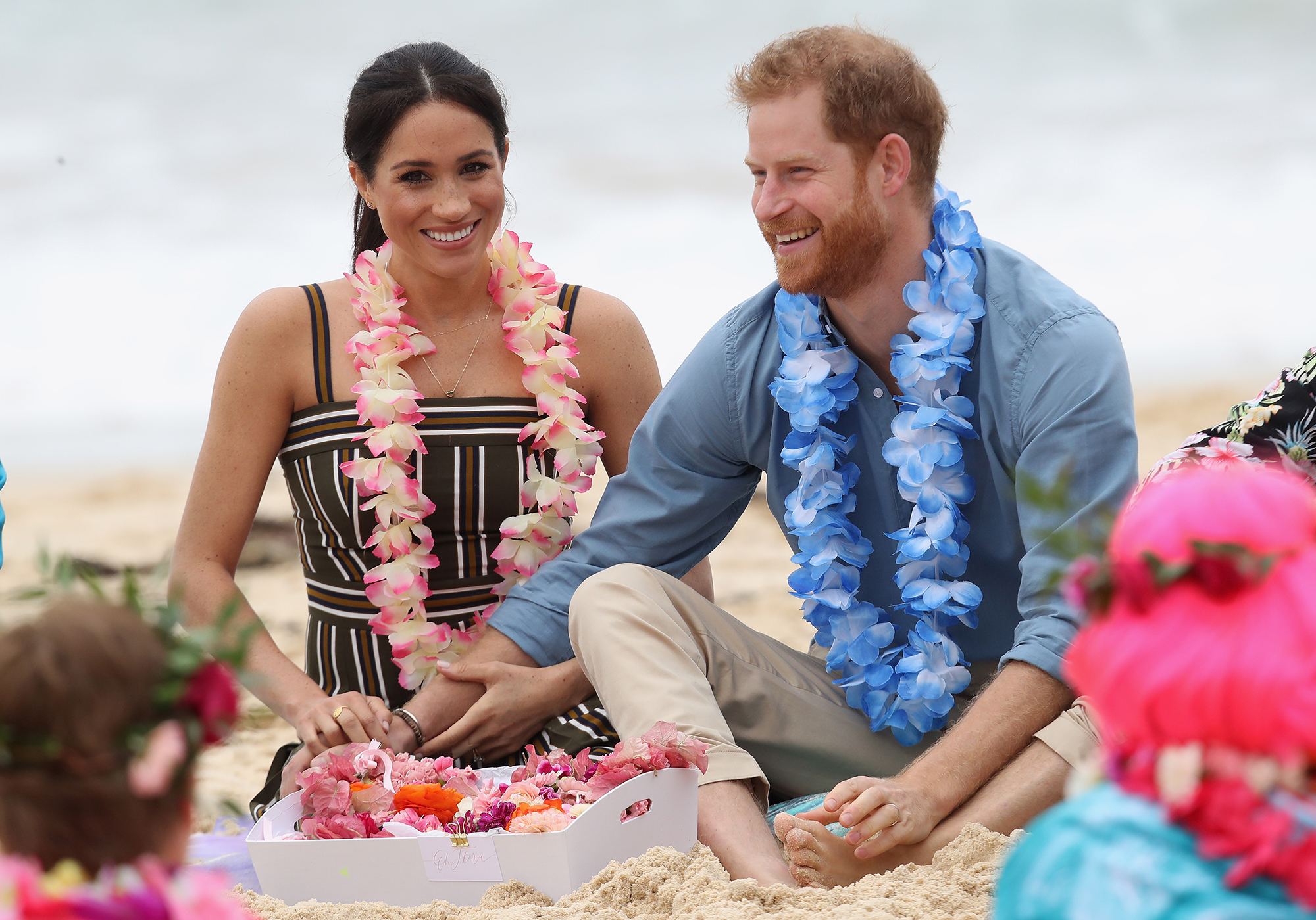 """Prince Harry and Duchess Meghan's 1st Year of Marriage - Hours after the pair touched down in Australia for their first international tour together , Kensington Palace announced on October 15, 2018 that Meghan was pregnant. """"Their Royal Highnesses The Duke and Duchess of Sussex are very pleased to announce that The Duchess of Sussex is expecting a baby in the Spring of 2019,"""" the statement read."""