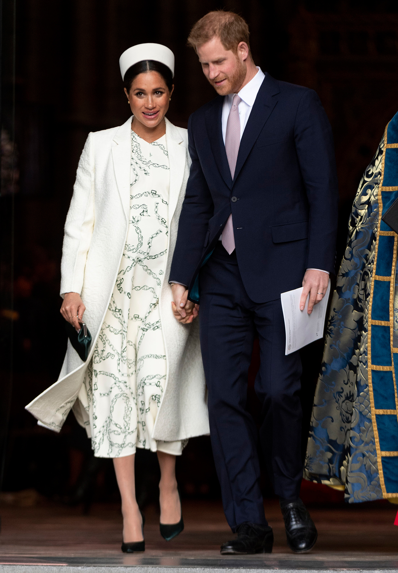 Prince Harry and Duchess Meghan's 1st Year of Marriage - Harry and Meghan joined William, Kate, Queen Elizabeth II, Prince Charles and Duchess Camilla for a Commonwealth Day 2019 interfaith service at Westminster Abbey in London on Monday, March 11. Days later, the palace confirmed the Duke and Duchess of Sussex officially split royal households from the Duke and Duchess of Cambridge.